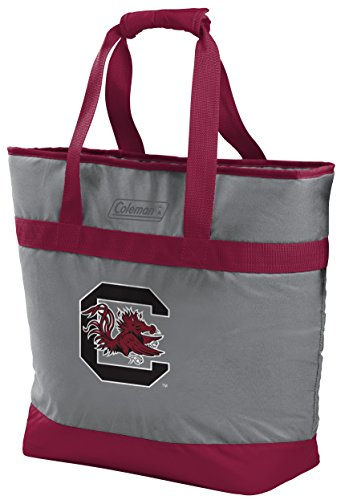 Rawlings unisex NCAA 30 Can Soft Sided Tote Cooler, University of South Carolina Red , X-Large