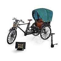 テクニックバイク、モダンテクニック人力車バイク三輪車3Dモデル、ビルディングブロックモデルキット大人の子供のための教育玩具ギフト,C