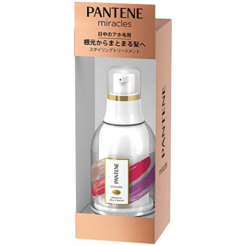 Pantene Miracles Styling Treatment Smooth Jelly Balm Bottle 25mL