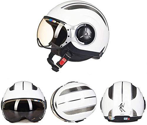 EBAYIN Halbhelme Jethelme 3/4 Helm Retro Harley Moped Helm ECE Cruiser Battle Report...