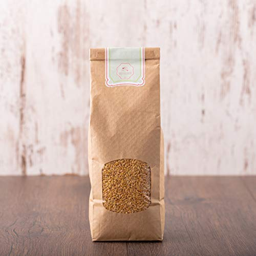 süssundclever.de® Bio Goldleinsamen | Leinsamen | 1 kg | unbehandelt | plastikfrei und ökologisch-nachhaltig abgepackt