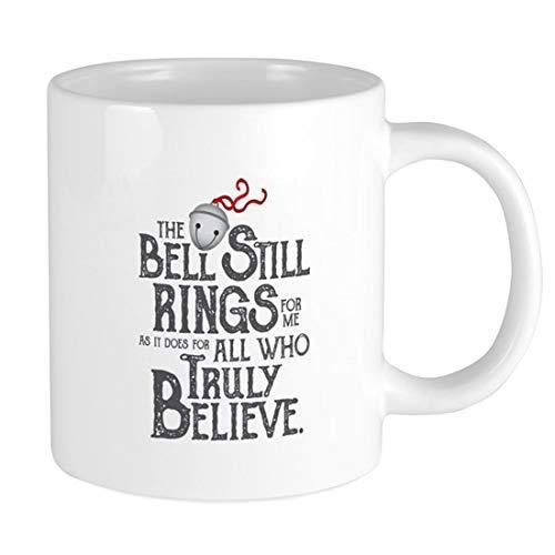 N\A Bell Still Taza de cerámica Taza de cerámica de 11 oz Taza de café Divertida y novedosa Mejor Idea de Navidad Año Nuevo Vacaciones para Familiares Amigos Compañeros de Trabajo Ho