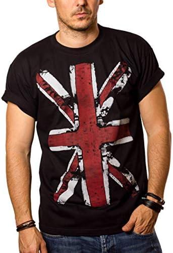 MAKAYA Camiseta con Bandera de Inglaterra - Union Jack