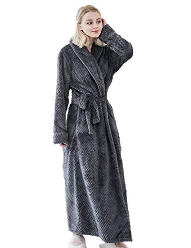 DyM Espesar y alargar los pijamas de franela para parejas en otoño e invierno.