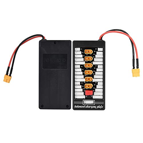 Cargador De Batería RC, Cargador De Batería Lipo Profesional Multi 2S-6S De Seguridad Y Duradero Para Carga De Batería De Coche RC