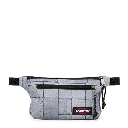 Eastpak Talky Gürteltasche, 23 cm, 2 L, Grau (Cracked White)