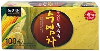 [Nokchawon] 100% Organic Oriental TEA selections from Korea Corn silk tea 100T