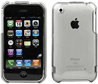 Importer520 Transparent Crystal Clear Snap-On Cover Hard Case Cell Phone Protector For Apple iPhone 3G 3GS 16GB/32GB
