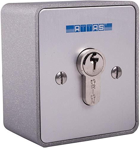 Schlüsseltaster einseitig tastend aufputz Torantriebe Garagentorantriebe Hörmann BFT (Verschiedenschließend)