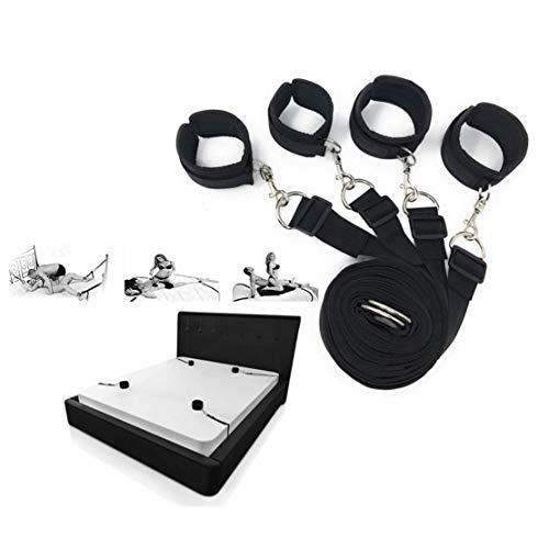 Bett Romantic Restraint Set - Soft Handfessel - Privat Comfort Sport Straps für die meisten Bed