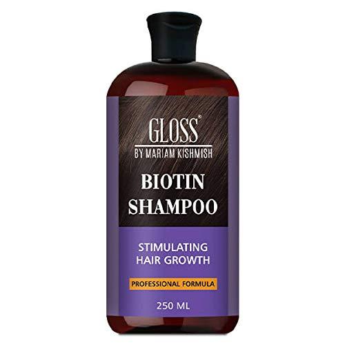 GLOSS Biotin Hair Shampoo for Healthy Strong Hair Growth and Thinning Hair...