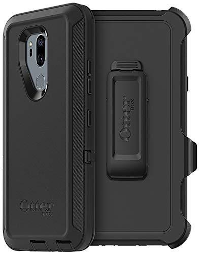 OtterBox Defender Series Case for LG G7 ThinQ, LG G7 PLUS ThinQ, LG G7 One - Non-Retail Packaging - Black