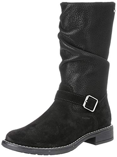 Richter Kinderschuhe Mary4274-8112 Mode-Stiefel, 9900black, 38 EU