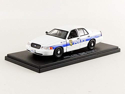 GREENLIGHT COLLECTIBLES - FORD Crown Victoria Police California- MacGyver - 1/43