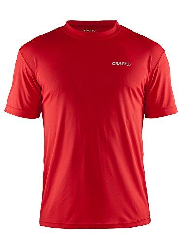 Craft Herren Active Run T-Shirt, leuchtendes Rot M rot