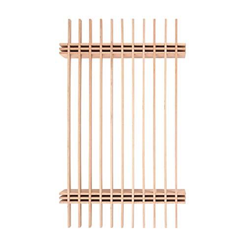 Tojo Parallel L Bett 140, buche LxBxH 205x138x25cm für Matratzen 140x210cm