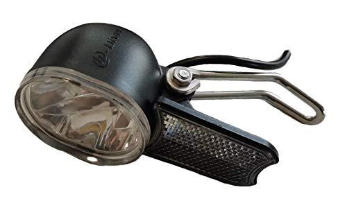 bmc-world | Vorderlicht, LED Scheinwerfer, StVZo zugelassen, E-Bike, Elektro Fahrrad, Pedelec, 24V/36V/48V, SM-2A-Stecker