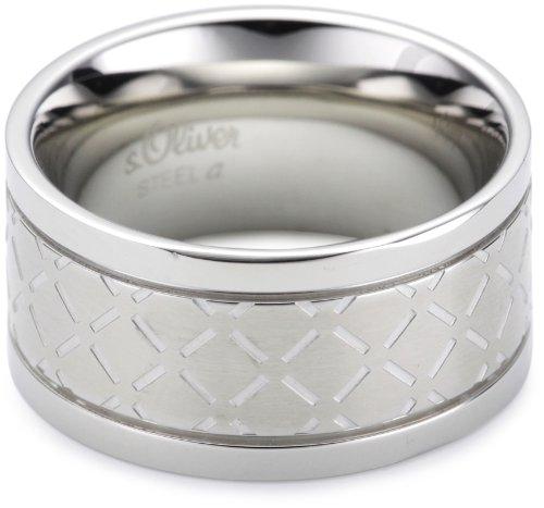 s.Oliver Herren-Ring Edelstahl 375399