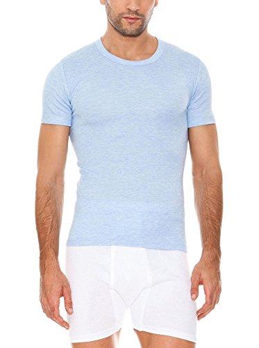 ABANDERADO 0000806- Camiseta Manga Corta Cuello Redondo Termal Efecto Calor De Fibra...
