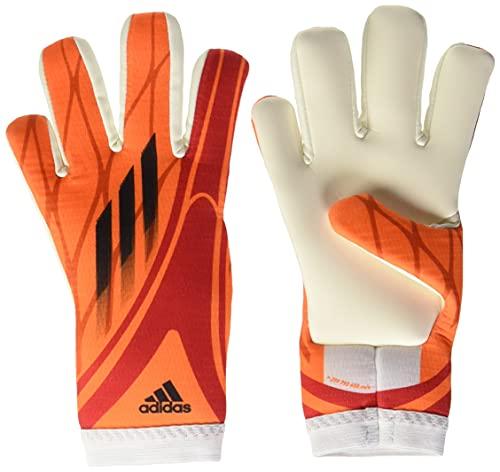 adidas Unisex-Child X Training Glove, Solar Red/Black/Red/White, 3