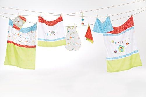 coleccion textil robaIndibear suave alfombrilla de cambiador para beb/é recubierto con pelicula de PU Alfombrilla de cambiador roba de 85x75 cm