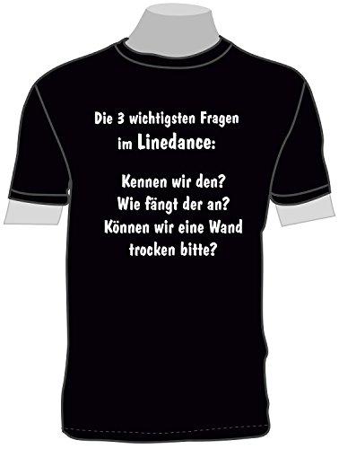 ShirtShop-Saar Die 3 wichtigsten Fragen im Linedance; T-Shirt
