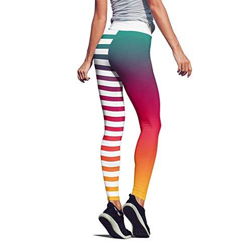 Dtuta Yogahose Damen Sports Leggings Casual Scrunch Butt Jogginghose Sporthose Fitness Hose Trainingshose, Sportleggins Sport Freizeit Lange Mode Druck Fitnesshose für Workout Yoga Jogging Gym