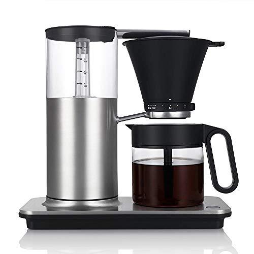 Wilfa CLASSIC Kaffebryggare - med manuell droppstoppfunktion, automatisk avstängningsfunktion, 1 liter kapacitet, borstat stål