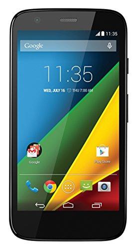 Motorola Moto G 4G - Smartphone libre (pantalla 4.5', cámara 5 Mp, 8 GB, Quad-Core 1.2 GHz, 1 GB RAM, Android 4.4.3) negro
