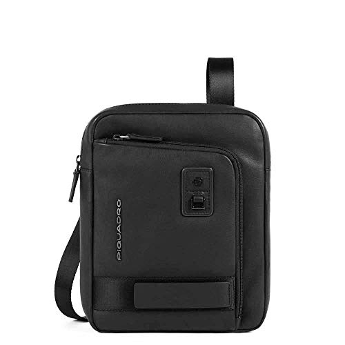 PIQUADRO Stubby Bag with Front Pocket Large Ipad Dioniso | CA1816W103-Black