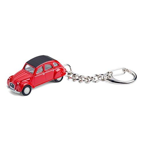 corpus delicti :: Schlüsselanhänger mit Citroën 2CV rot Modellauto für alle Auto- und Oldtimerfans (20.9-27)