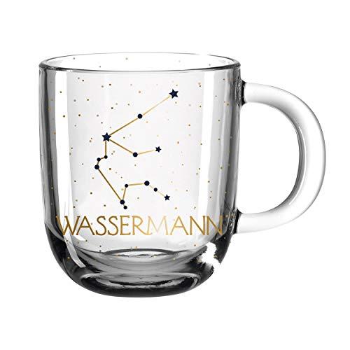 LEONARDO HOME 046527 ASTRO Tasse 400 ml Wassermann, Glas