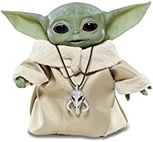 "Star Wars The Child Animatronic Edition ""AKA Baby Yoda"" with Over 25 Sound and Motion Combinations, The Mandalorian Toy..."