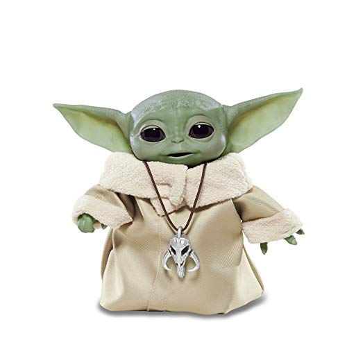 Animated Baby Yoda by Hasbro