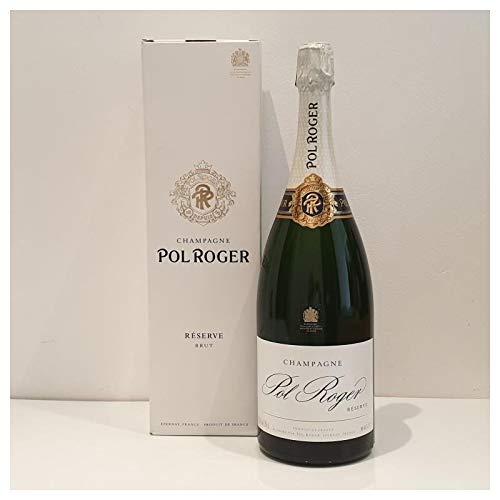 Cantina delle Meraviglie - BRUT RESERVE POL ROGER, Champagne di colore giallo paglierino brillante 1,5 L