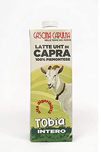 latte di capra cascina Caburna confezione da 6 per un litro