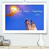 Blue Times - Magdeburg (Premium, hochwertiger DIN A2 Wandkalender 2021, Kunstdruck in Hochglanz)