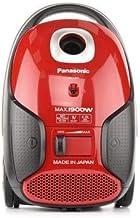 MC-CJ911R747-Panasonic Vacuum Cleaner 1900W, 6.0L Dust Bag Capacity, Flexible Power Adjustment, Anti-Bacteria Filter, Blow...
