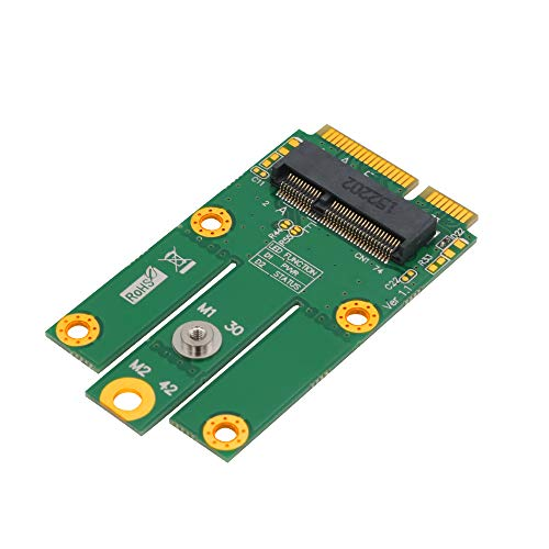M.2 (NGFF Key E) to MPCIe (PCIe+USB) Adapter pcie WiFi Card m.2 pcie Adapter