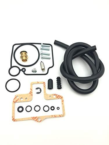 Kit de reparación de carburador de Suministro de c Kit de reconstrucción de reparación de carburador en carbohidratos Compatible con MIKUNI HSR42 HSR45 HSR 42 45 (Color : Black, Size : X-Small)
