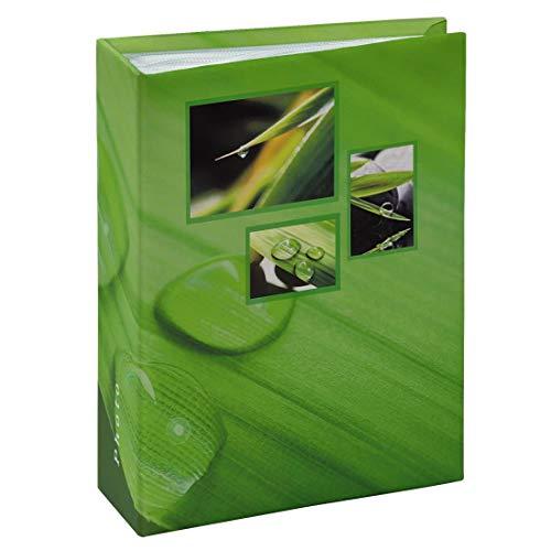 Hama Memo Singo106261-Álbum para Pegar, álbum (100 Fotos de 10 x 15 cm), Color Verde, 10x15