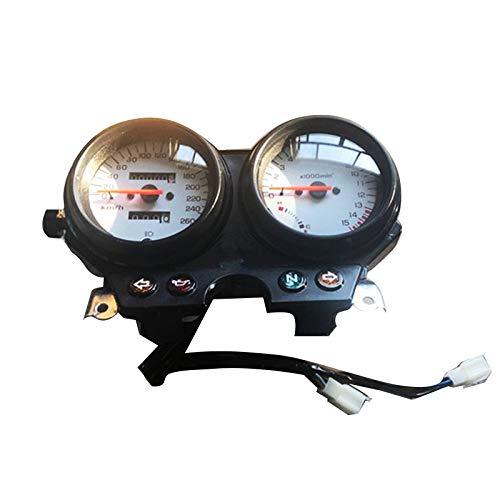 WANGXINQUAN Motorrad-Geschwindigkeitsmesser Gauges Dual-Instrument for H-O-N-D-A CB600 Hornisse 600 1996-2002