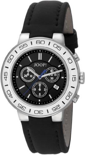 Joop Herren-Armbanduhr XL Insight Chronograph Quarz Leder JP100911F06