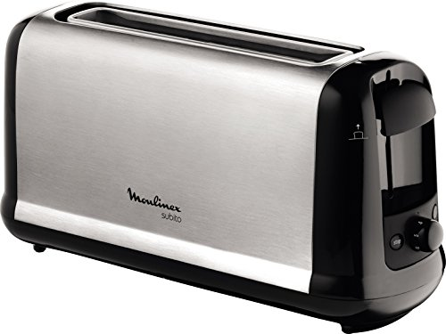 MOULINEX Subito inox Grille pain 1 longue fente toaster...