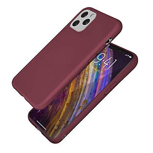 TELFORCEONE - Carcasa de TPU para iPhone 11 (Ultrafina, líquida)