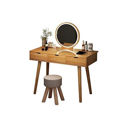 HIZLJJ Schlafzimmer Dressing Tables for Schlafzimmer, Ankleidezimmer, Erwachsene und Mädchen