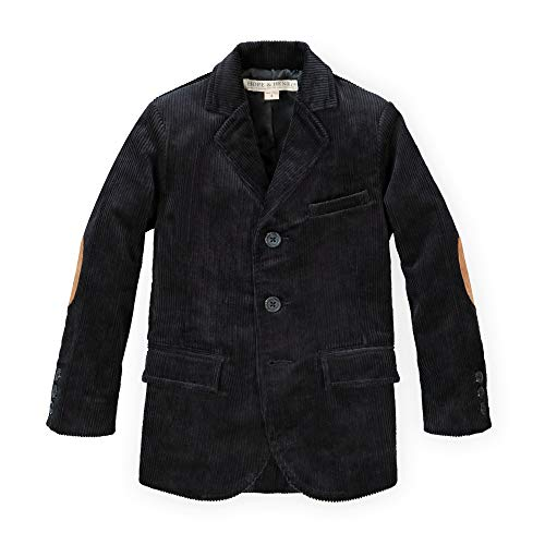 Hope & Henry Boys' Corduroy Blazer Black