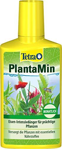 Tetra PlantaMin Universaldünger - flüssiger Eisen-Intensivdünger für prächtige und gesunde Wasserpflanzen im Aquarium, monatliche Anwendung, 250 ml