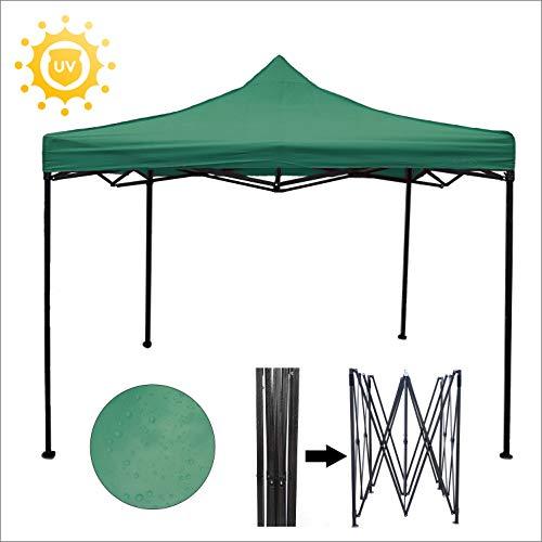 REGNUM GAZEBO 3x3 HEAVY DUTY Pop Up Gazebo Waterproof Marquee Garden Party Tent Canopy Gazebo for Garden Pop up Gazebo Garden Gazebo Pop up Gazebos (Green)