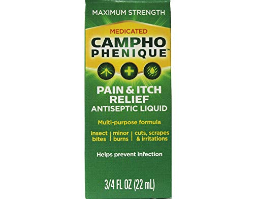 CamphoPhenique Antiseptic Liquid 3/4 oz